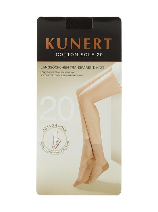 Cotton Sole 20 den -nilkkasukat