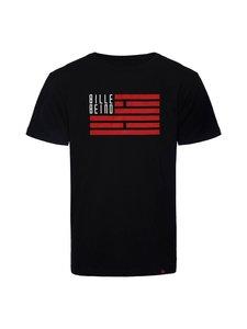 BILLEBEINO - BILLEBEINO x PURE WASTE Flag -paita - 99 BLACK | Stockmann