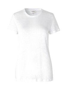 SECOND FEMALE - Peony O-neck Tee -pellavapaita - 1001 WHITE | Stockmann