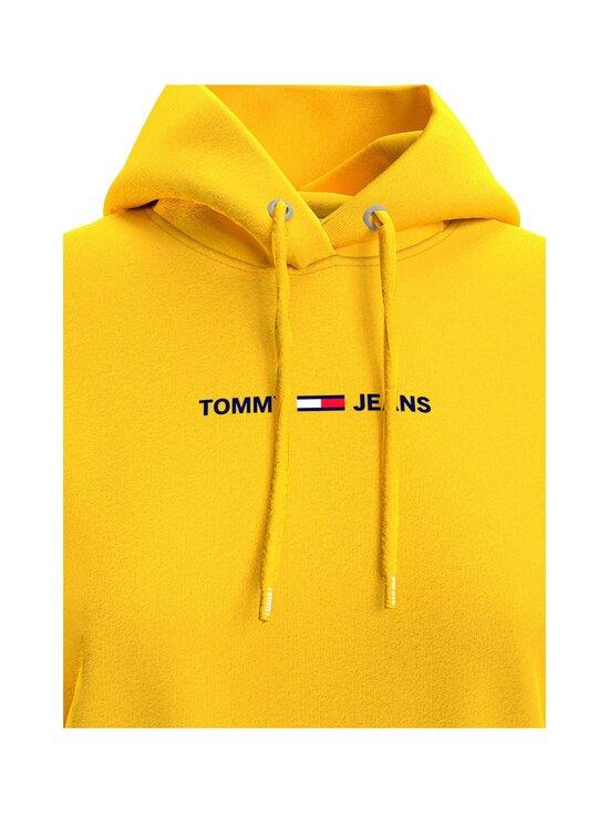 Tommy Jeans - TJW Linear Logo Hoodie -huppari - ZGQ STAR FRUIT YELLOW   Stockmann - photo 4