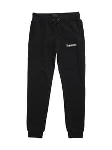 Superdry - Military Graphic Jogger -collegehousut - 02A BLACK   Stockmann