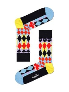 Happy Socks - Abstract Cards -sukat - 9300-BLACK | Stockmann