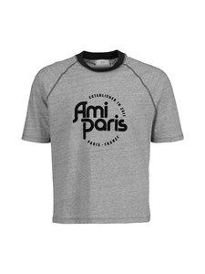 Ami - Ami Paris T-shirt -paita - GRIS/NOIR/057 | Stockmann
