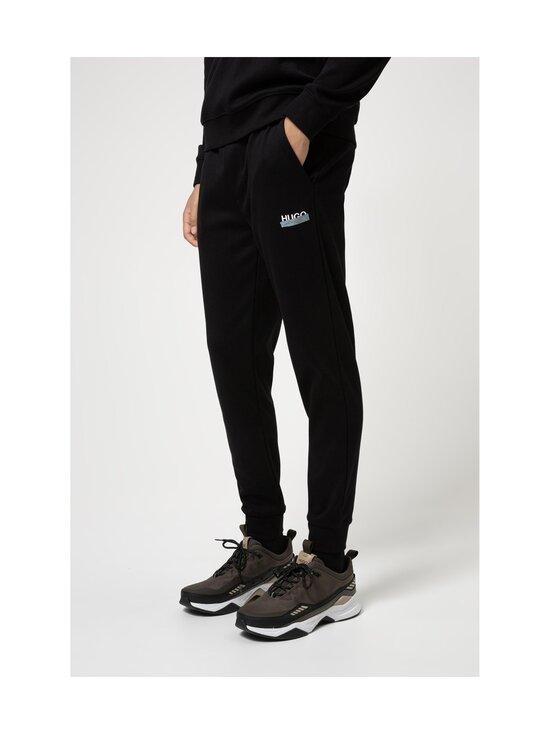 HUGO - Desell Jersey Trousers -housut - 001 BLACK   Stockmann - photo 2