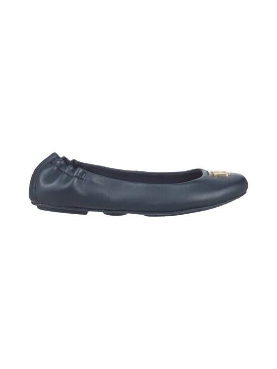 Monogram Leather Ballerina Flats -ballerinat