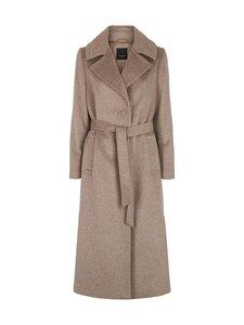 SAND Copenhagen - Cashmere Coat W - Clareta Belt -villakangastakki - 221 LIGHT CAMEL | Stockmann