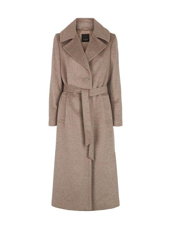 SAND Copenhagen - Cashmere Coat W - Clareta Belt -villakangastakki - 221 LIGHT CAMEL   Stockmann - photo 1