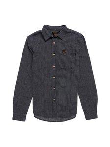 Superdry - Workwear Indigo -kauluspaita - 4EA TICKING STRIPE NAVY | Stockmann