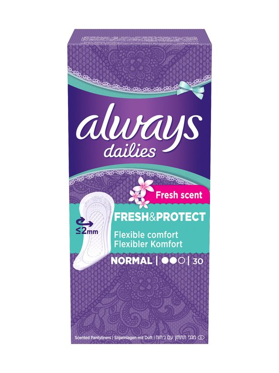 Always - Fresh & Protect Normal -pikkuhousunsuoja 30 kpl - null | Stockmann - photo 1
