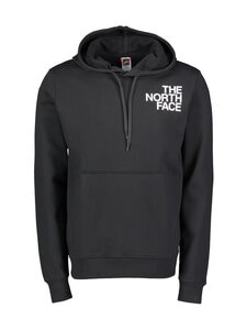 The North Face - M Oversize Logo Hoodie -huppari - KY41 TNF BLACK/TNF WHITE | Stockmann