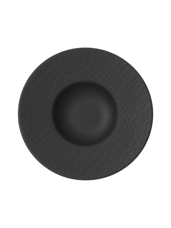Villeroy & Boch - Manufacture Rock -lautanen 29 cm - BLACK | Stockmann - photo 1