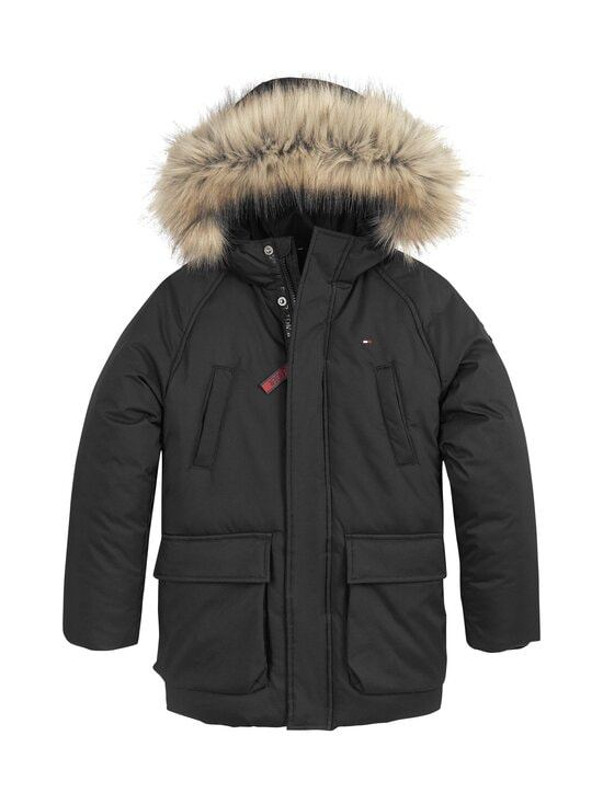 Tommy Hilfiger - Tech Parka -talvitakki - BDS BLACK | Stockmann - photo 1