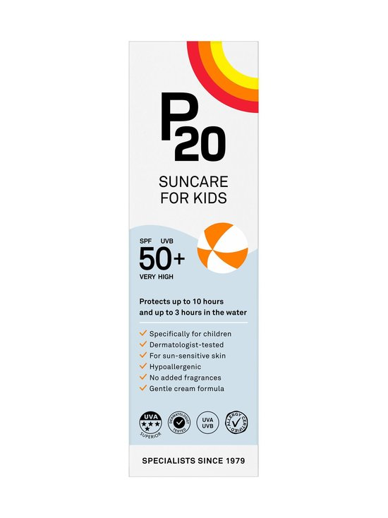 P20 - Kids SPF 50+ -aurinkosuojavoide 100 ml - NOCOL | Stockmann - photo 3