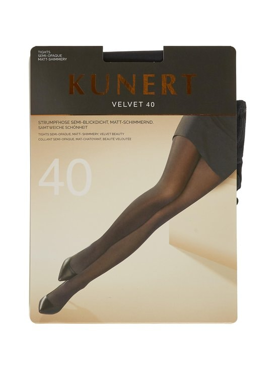 Kunert - Velvet 40 den -sukkahousut - MARINE | Stockmann - photo 1