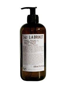L:A Bruket - Hand & Body Wash Elderflower -nestesaippua 450 ml   Stockmann