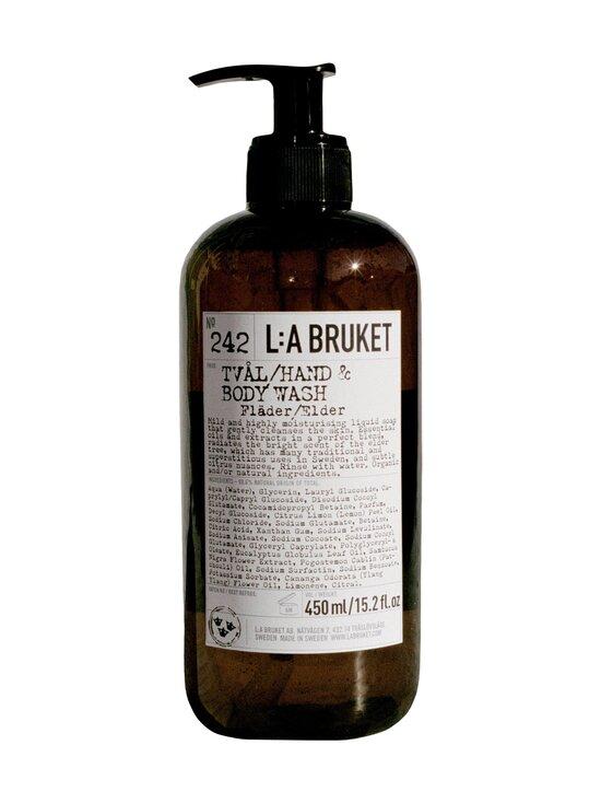 L:A Bruket - Hand & Body Wash Elderflower -nestesaippua 450 ml - NOCOL   Stockmann - photo 1