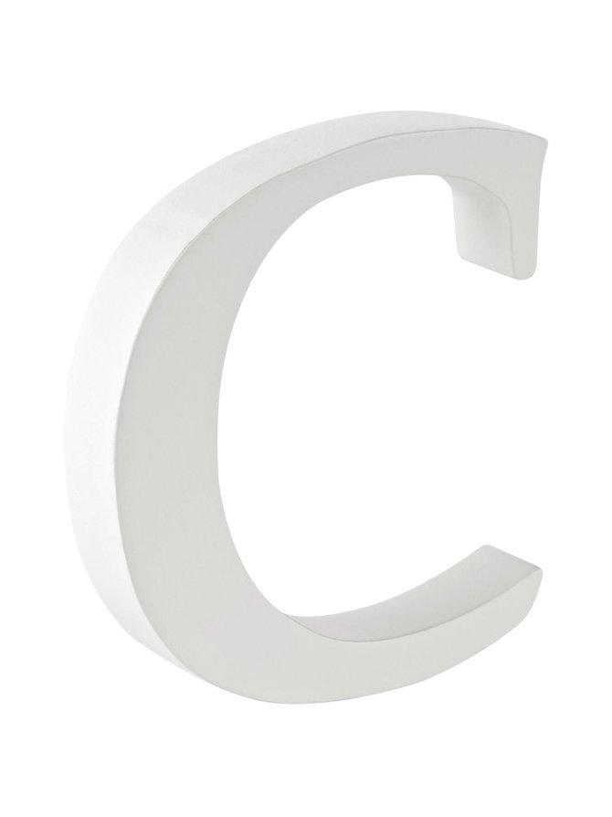 Puukirjain C