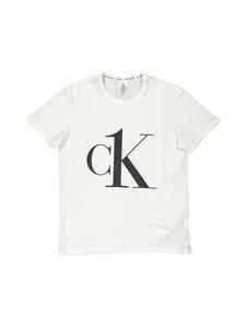 Calvin Klein Underwear - S/S Crew Neck -paita - 7UM WHITE_BLACK LOGO | Stockmann