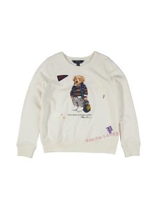 Polo Ralph Lauren - Bear-collegepaita - 2WUN WHITE | Stockmann