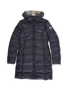 COLMAR - Long Down Coat -untuvatakki - 68 NAVY BLUE-DARK STEEL | Stockmann