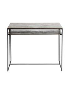 Muubs - Hitch-pöytä 90 x 74 x 50 cm - BLACK/ANTIQUE BRASS | Stockmann