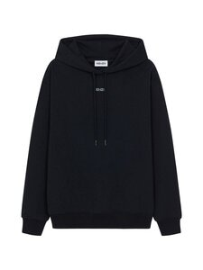 Kenzo - Kenzo Logo -huppari - 164MO.99 99 - ORGANIC BRUSHED MOLLETON - BLACK | Stockmann