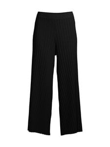 Filippa K - Celeste Knitted Trouser -housut - 1433 BLACK | Stockmann