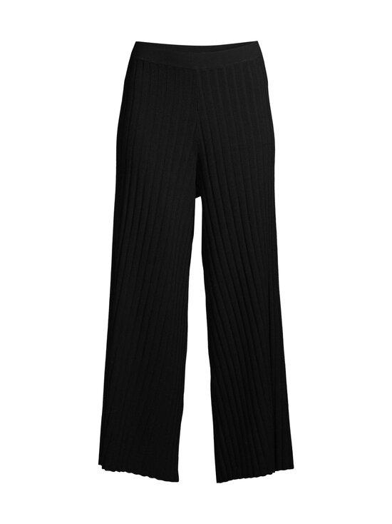 Filippa K - Celeste Knitted Trouser -housut - 1433 BLACK | Stockmann - photo 1