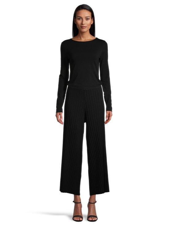 Filippa K - Celeste Knitted Trouser -housut - 1433 BLACK | Stockmann - photo 2