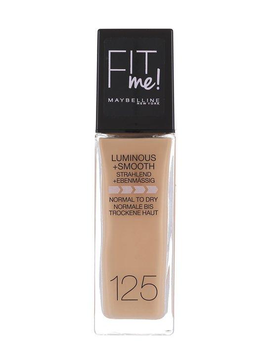 Maybelline - Fit Me Luminous + Smooth -meikkivoide 30 ml - 125 NUDE BEIGE | Stockmann - photo 1
