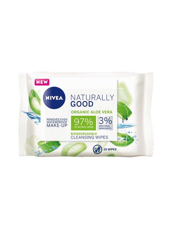 NIVEA - Naturally Good Face Cleansing Wipes -puhdistusliinat 25 kpl - NOCOL | Stockmann - photo 1