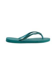 Havaianas - Slim Velvet Flip Flops -varvassandaalit - 7605 GREEN LEAF | Stockmann