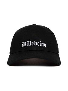BILLEBEINO - Typography Emroidery Cap -lippalakki - 99 BLACK | Stockmann