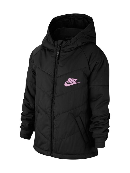 Nike - Sportswear-toppatakki - BLACK/BLACK/BLACK/LT ARCTIC PINK | Stockmann - photo 4