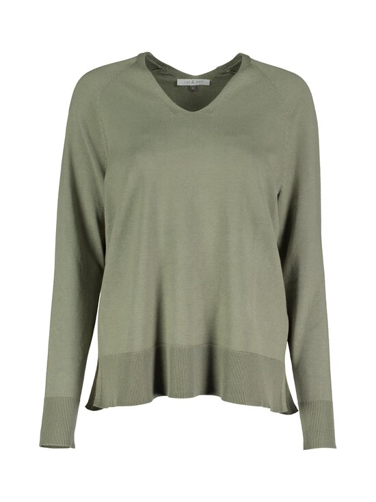 cut & pret - Fatima-neule - KHAKI GREEN | Stockmann - photo 1