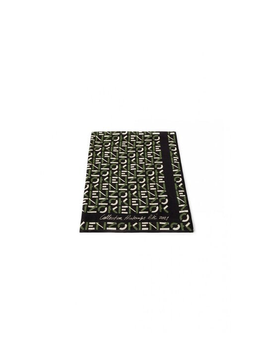 Kenzo - Monogrammed Stole -huivi - BLACK | Stockmann - photo 2