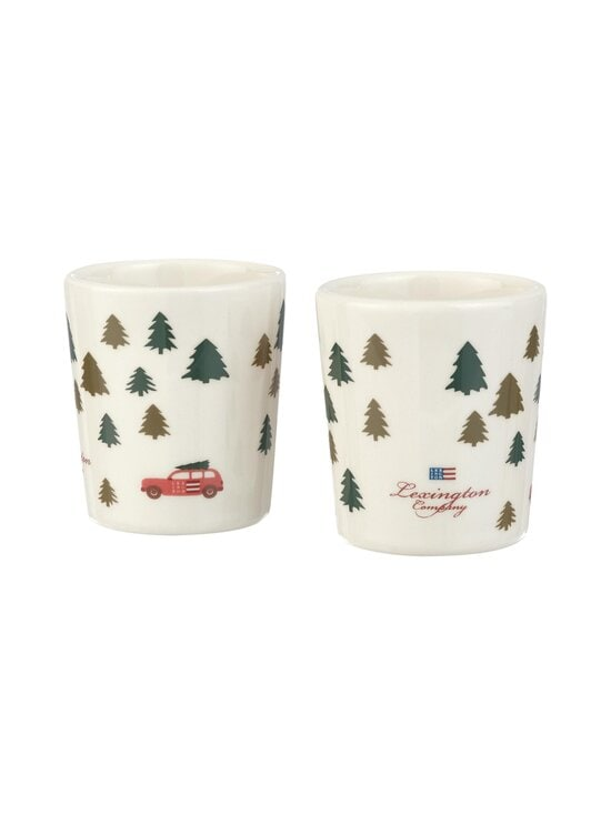 Lexington - Holiday Espresso Mug -espressokuppi 2 kpl - WHITE | Stockmann - photo 1