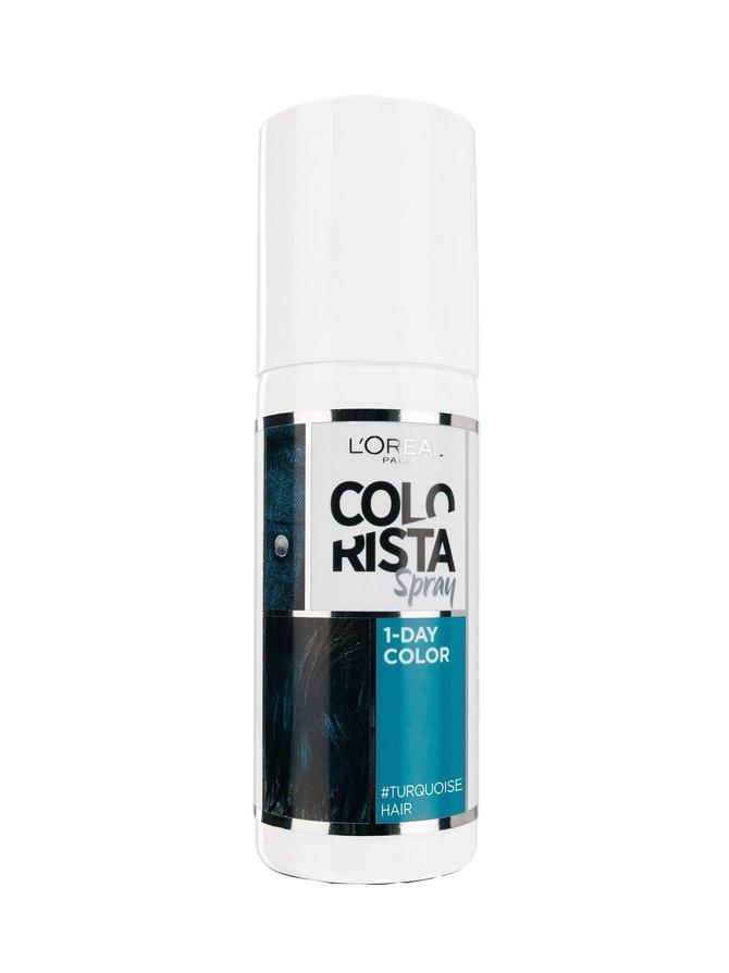 Colorista Spray 1-Day Colour #Turquoisehair -suihkutettava hiusväri