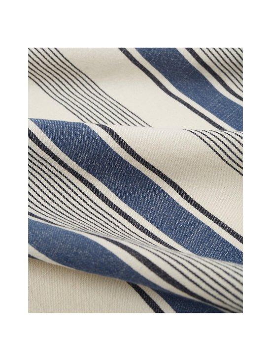 Lexington - Striped Cotton Twill -keittiöpyyhe 50 x 70 cm - WHITE/BLUE | Stockmann - photo 3