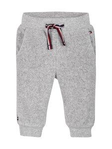 Tommy Hilfiger - Baby Velour Sweatpants -housut - P01 GREY HEATHER | Stockmann