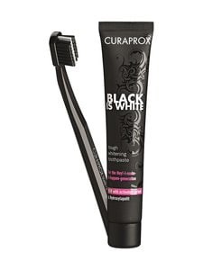 CURAPROX - Black is White -hammastahna 90 ml + hammasharja - null | Stockmann