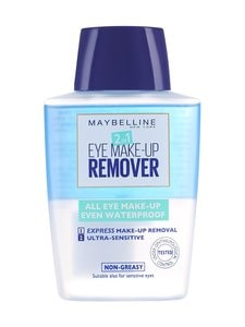 Maybelline - 2in1 Eye Make-Up Remover -silmämeikinpoistoaine 125 ml | Stockmann