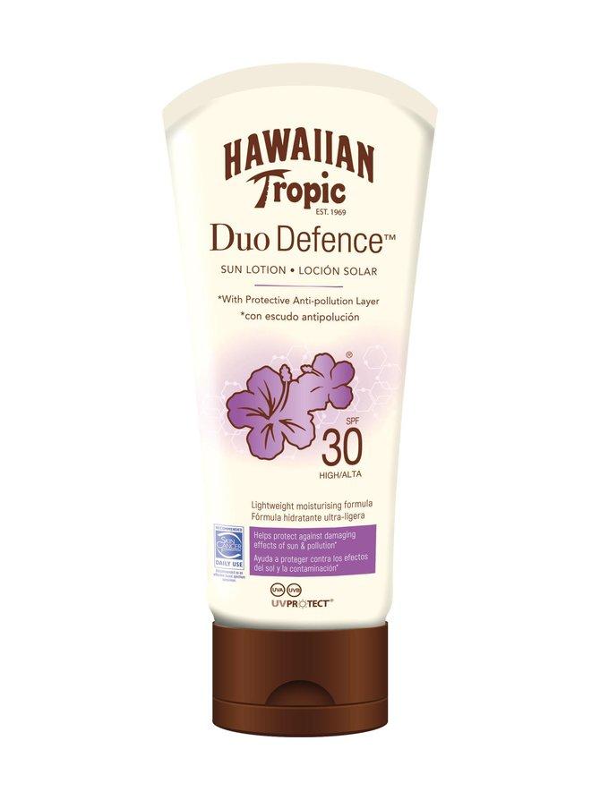 Hawaiian DuoDefence Sun Lotion SPF 30 -aurinkosuojavoide 180 ml