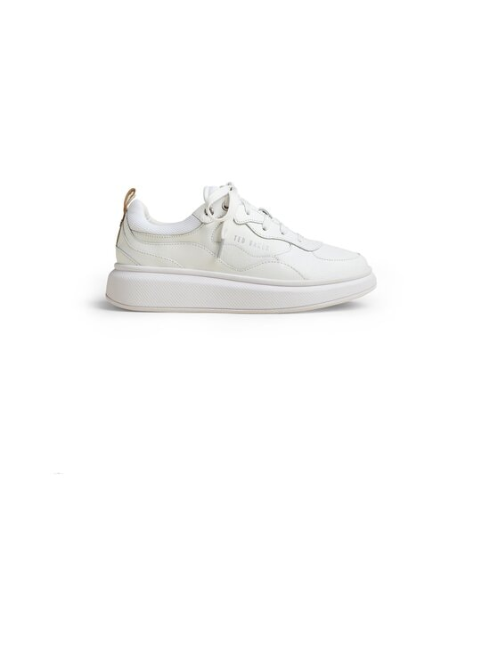 Ted Baker London - Tallee Platform Sole -nahkasneakerit - WHITE | Stockmann - photo 1