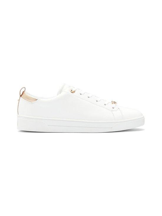 Ted Baker London - Gielli-nahkasneakerit - 99 WHITE | Stockmann - photo 1