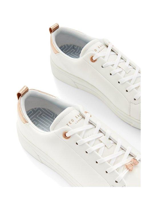 Ted Baker London - Gielli-nahkasneakerit - 99 WHITE | Stockmann - photo 3
