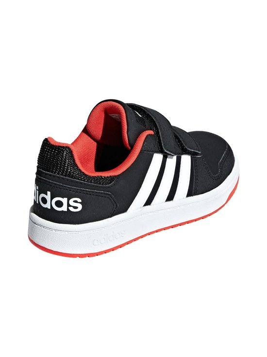 adidas Performance - Hoops 2.0 -kengät - CORE BLACK / CLOUD WHITE / HI-RES RED | Stockmann - photo 5
