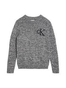 Calvin Klein Kids - Ck Monogram Sweater -neule - BEH CK BLACK | Stockmann