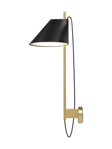 Louis Poulsen - Yuh-seinävalaisin - BLACK/BRASS | Stockmann