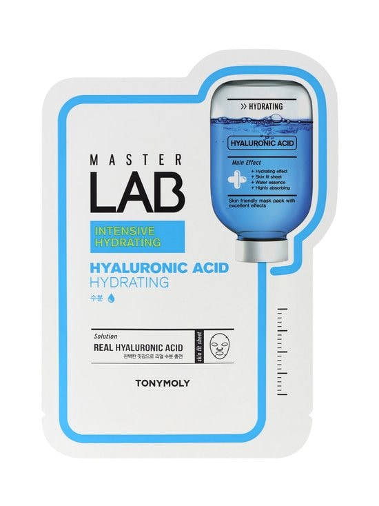TONYMOLY - Master Lab Sheet Mask Hyaluronic Acid -kasvonaamio - NOCOL | Stockmann - photo 1